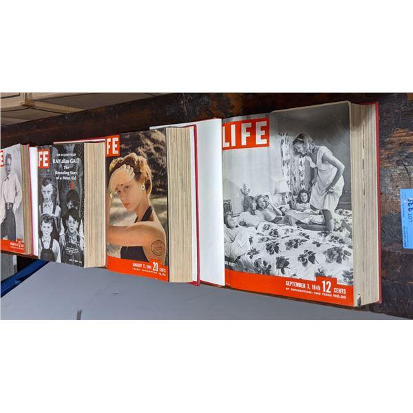 Lot of 4 Life Magazine Books