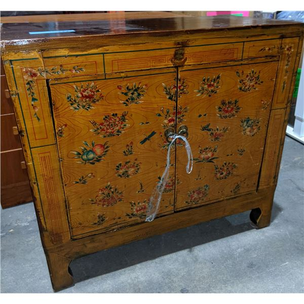 Asian Style  Wooden Cabinet from show