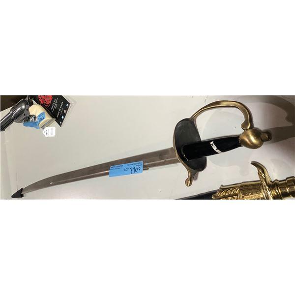 sharp metal sword made in Spain