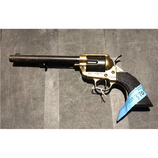 45 caliber replica gun (golden) made in Spain