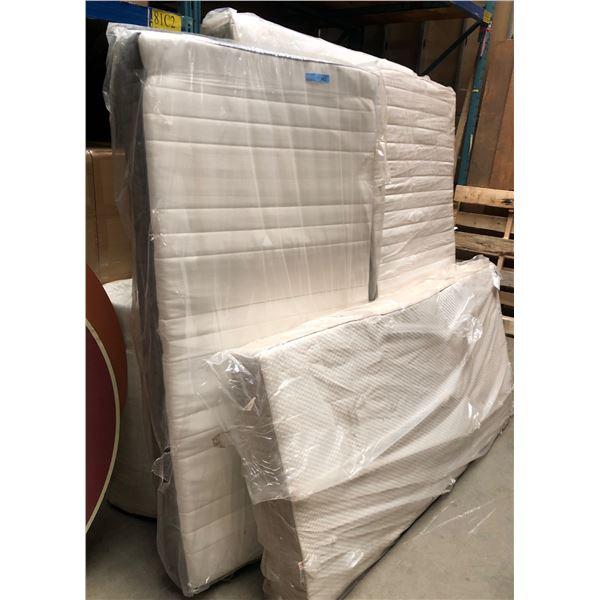 four twin mattresses two queen mattresses