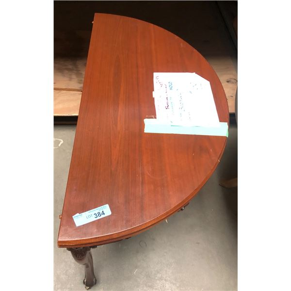 mid-century round table from the show - 36 in diameter 30.5 in height