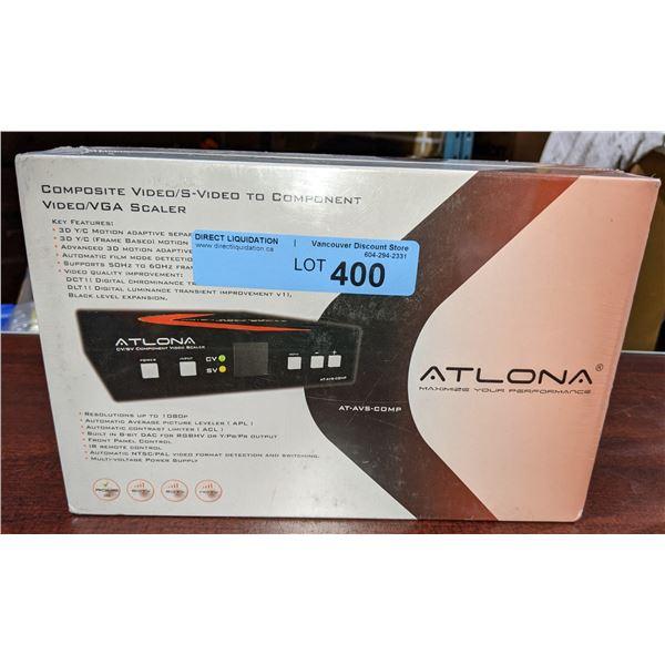 Atlona composite video slash S-Video to component video / VGA scaler - AT-AVS-COMP