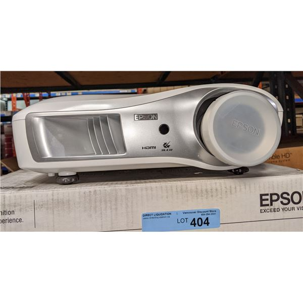 Epson home theater projector powerlite home cinema 1080