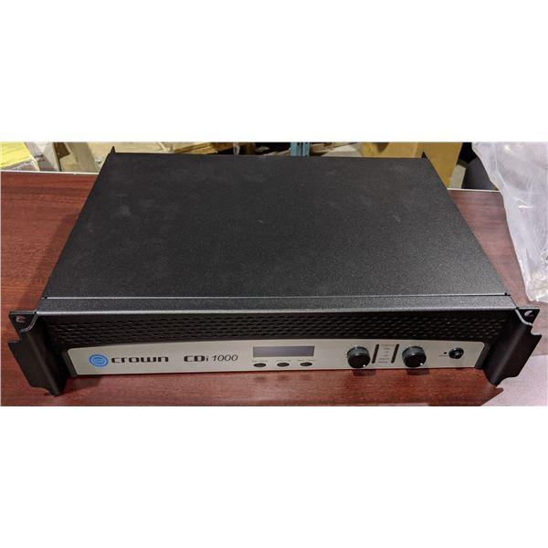 Crown power amplifier - CDi1000