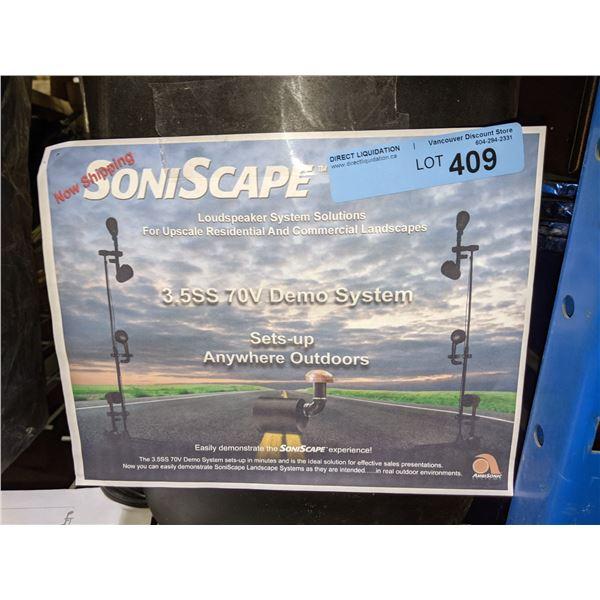 2 x SoniScape Loudspeaker System - 3.5SS 70V Demo System