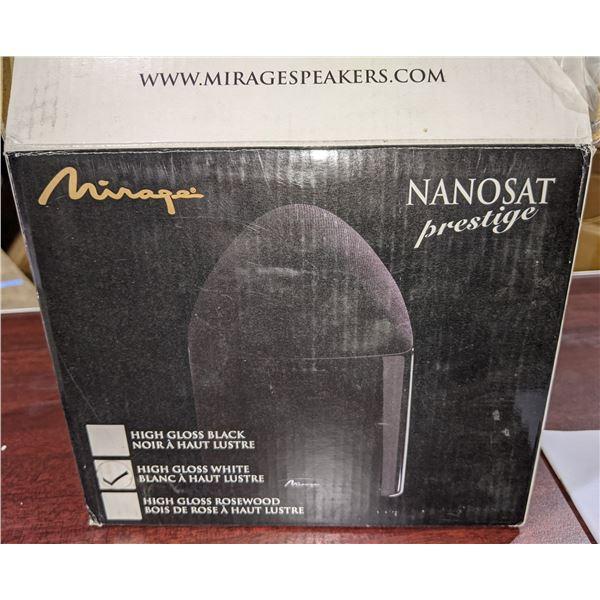 mirage Nanosat prestige omnipolar speaker system