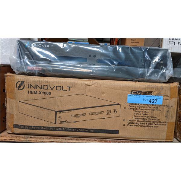 Innovolt HEM-X1000 Current and voltage surge suppressor