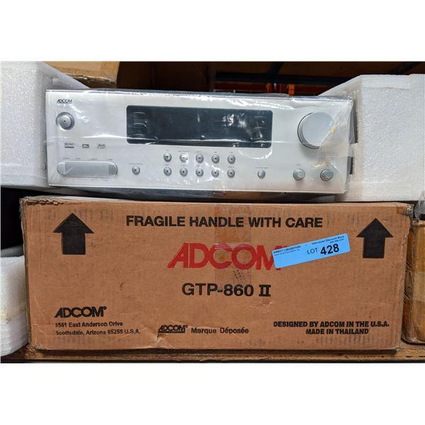 "Adcom GTP-860II - Surround Sound Preamplifier - 7.1 channel ""ADCOM GTP-860II Receiver"