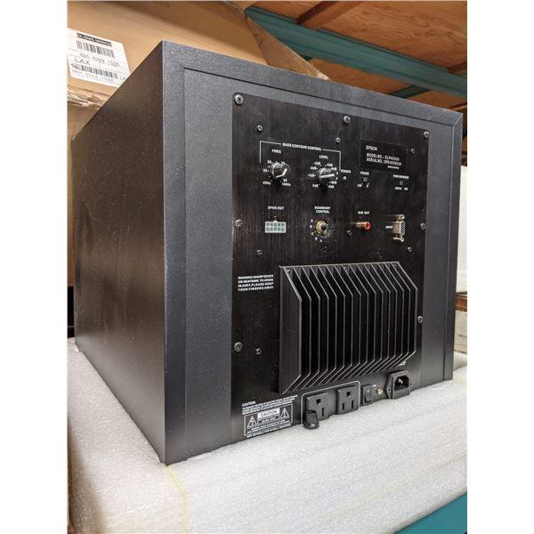 Epson audio system and panel display three panel display mounts with tilt