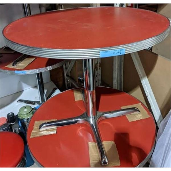 Retro diner table - 3ft Diameter