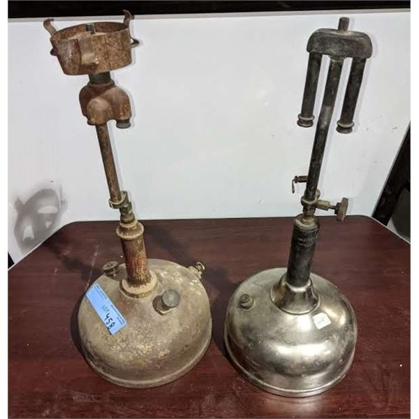 a pair of Gas Lamps