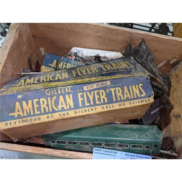 A vintage train