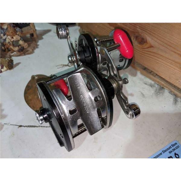2 Vintage fishing reels (immec 21-P and Immec 22-P)