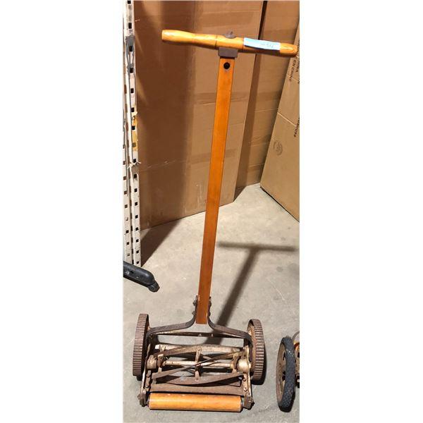 Vintage hand lawn mower