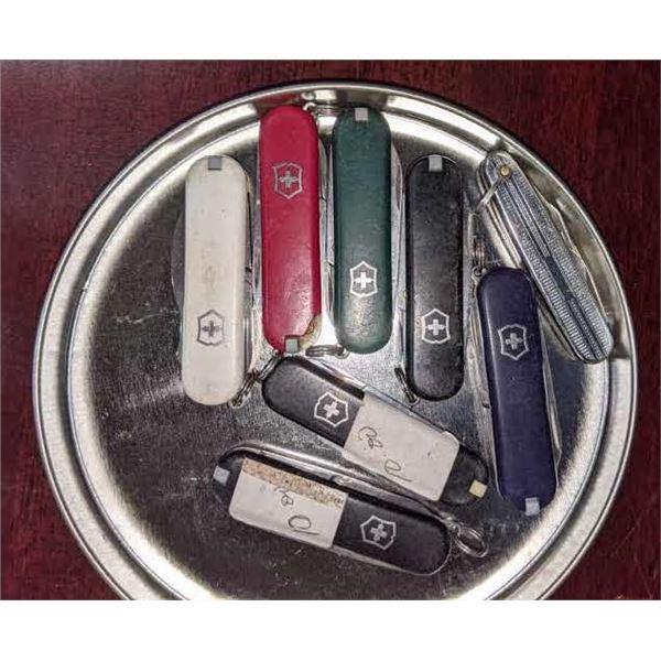 Mini Swiss Knifes - Approx. 8 pieces