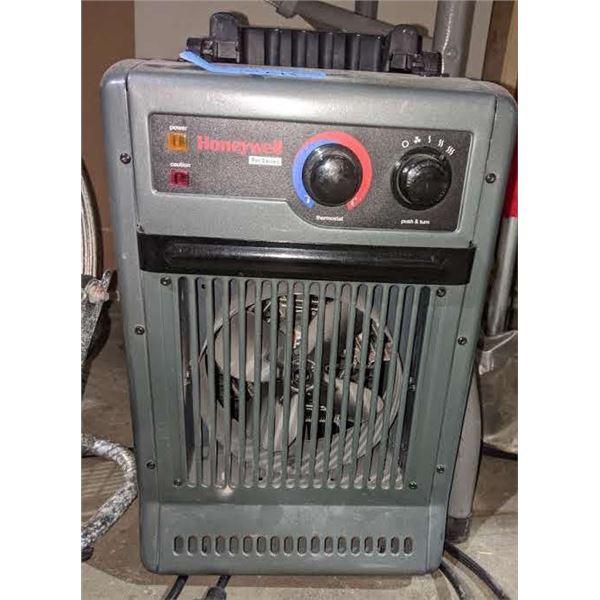 Honeywell heater and glacier pro industrial fan