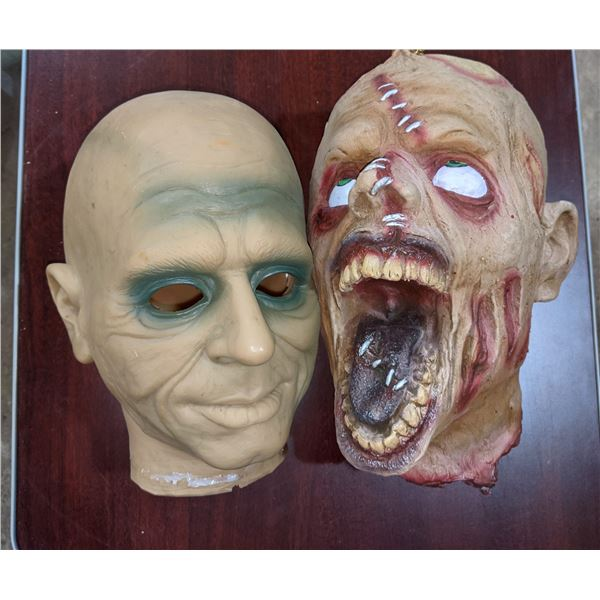 Creepy Severed heads - movie props