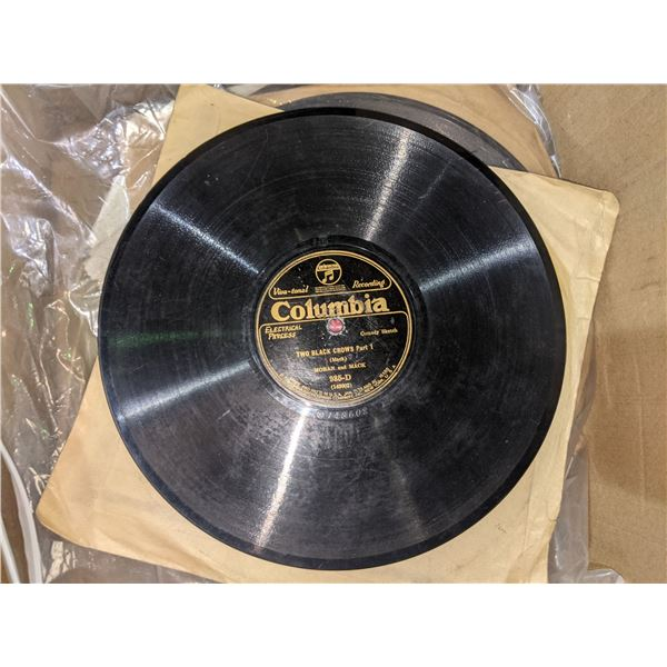 Approx 90 collectible 10  records 10  as old as 1920