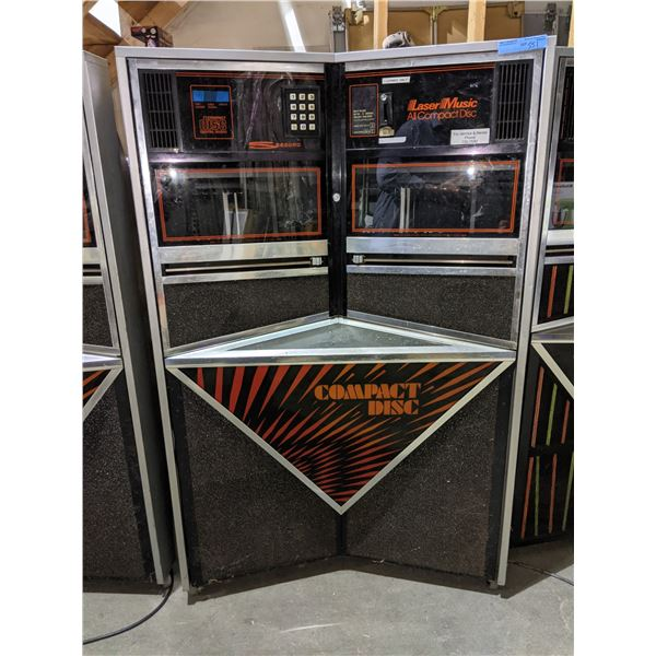 Seaberg CD Jukebox- lights up (as-is)