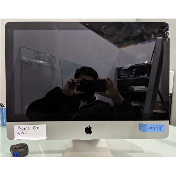 """iMac 21"""" From the Production office - Model no. A1311 (Powers on) - As is"""