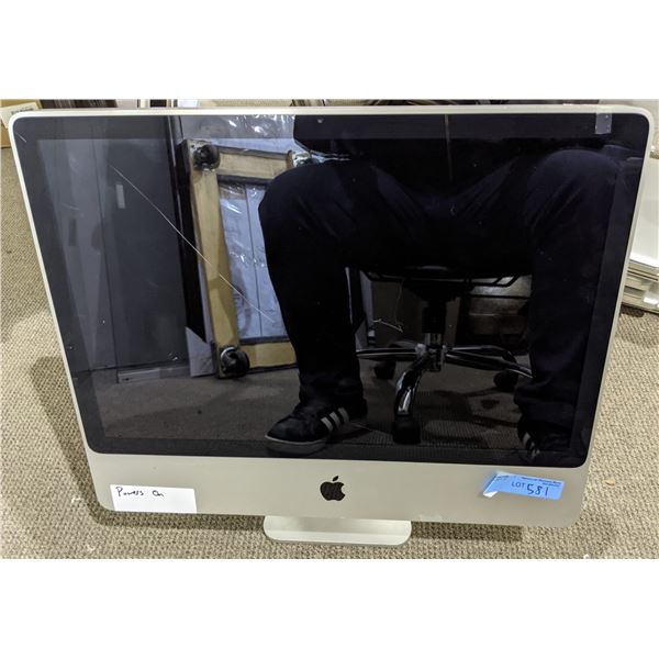 iMac 24  From the production office - Model no. A1225 - As is