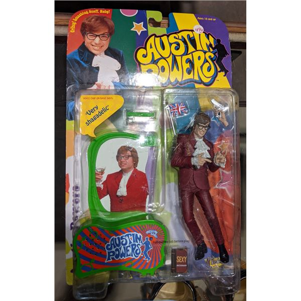 Highly Collectible Austin Powers Action Figure (brand new in box)
