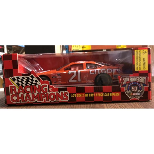 Two 1:24 Scale Die cast stock car replica (50th year anniversary)