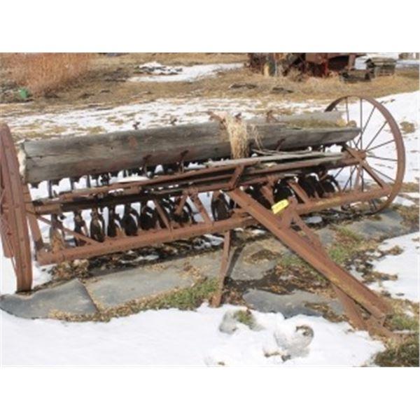 ANTIQUE SEED DRILL