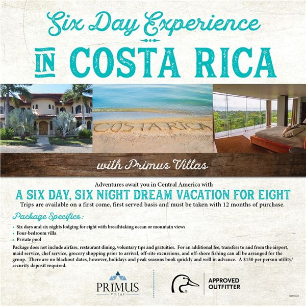 Costa Rica Experience for 8