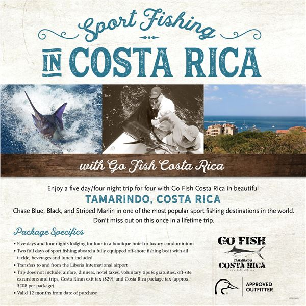 Costa Rica Billfishing for Four