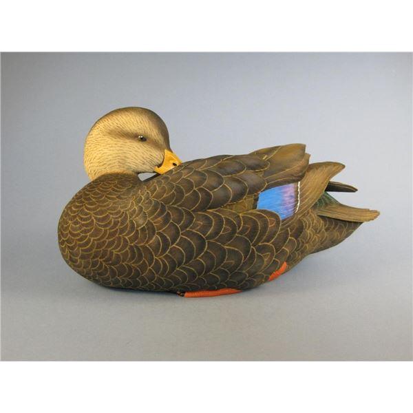 Jett Brunet Black Duck Decoy