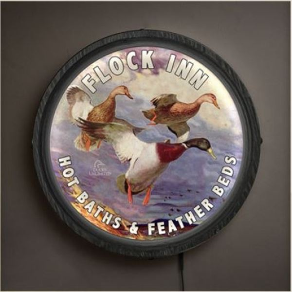 Flock Inn Light up Bar Sign