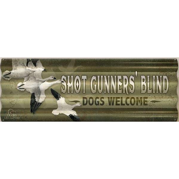 Shot Gunners' Blind Sign