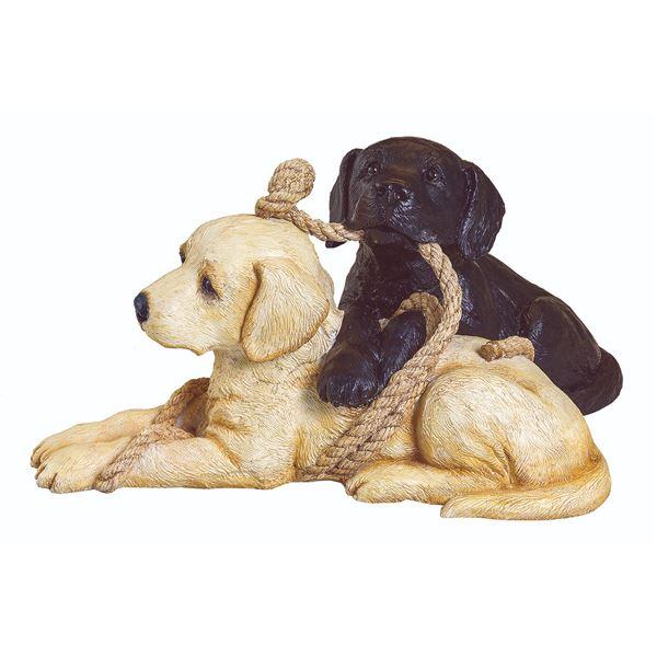 Playful Pups Sculpture