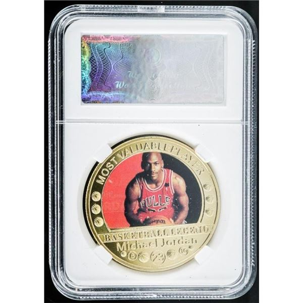 Michael Jordan MVP Collector Medallion
