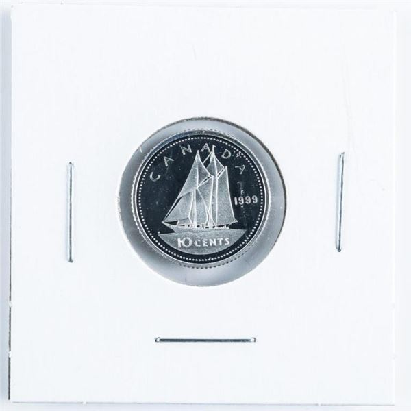 1999 Proof Silver 10 Cent