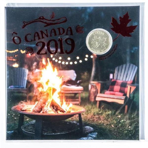 RCM 2019 OH CANADA UNC Coins Special Issue  Folio