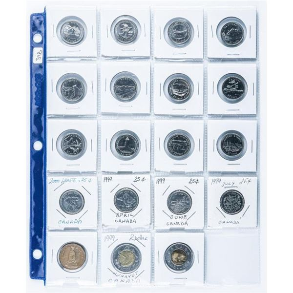 Group of (19) Coins of Canada