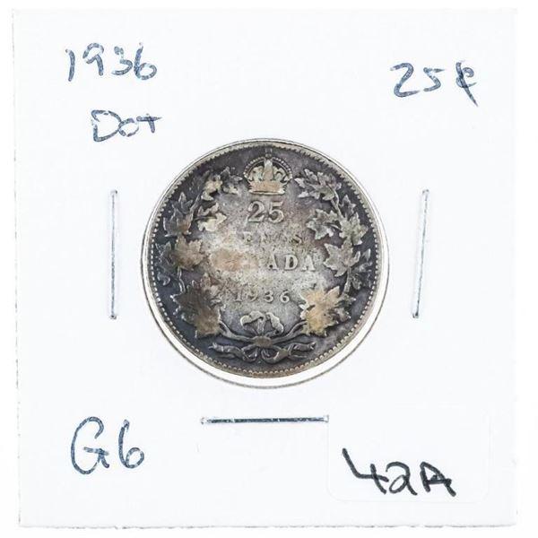 Canada 1936 25 Cent