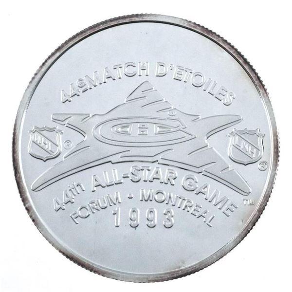 STANLEY CUP 1893-1993 .999 Fine Silver LE  Medallion 1oz ASW