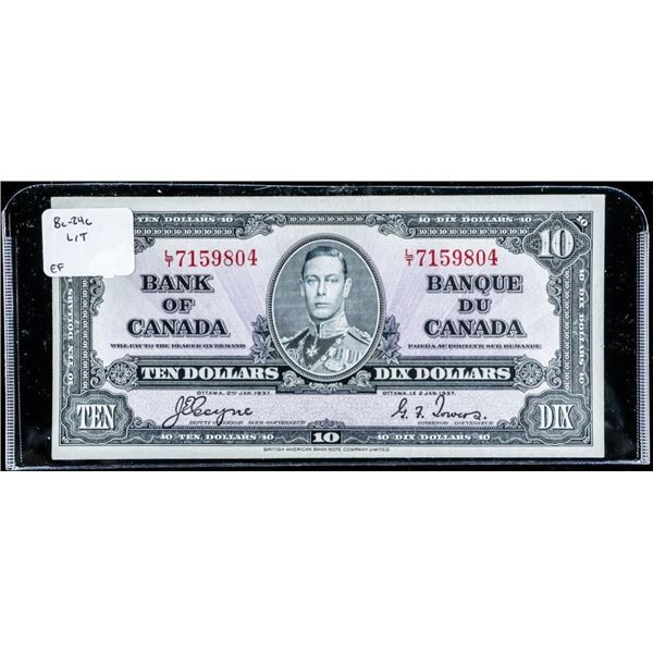 Bank of Canada 1937 10.00 C/T