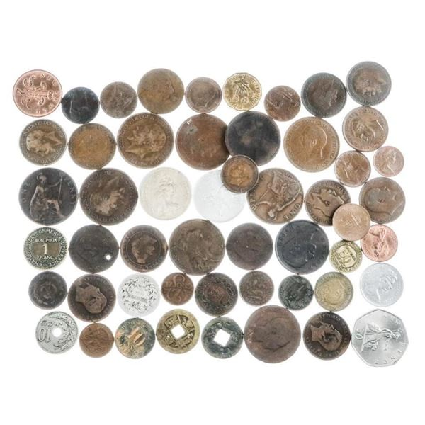 Estate - Bag World Coins Sorted