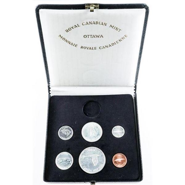 1867-1967 Silver Specimen Set
