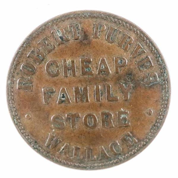 Wallace Breton 857, Canada Token