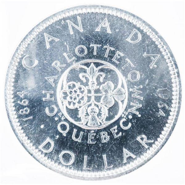 1964 CANADA Silver Dollar PL65 ICCS