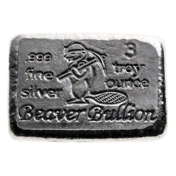 Collector Bullion .999 Fine Silver 3oz Brick
