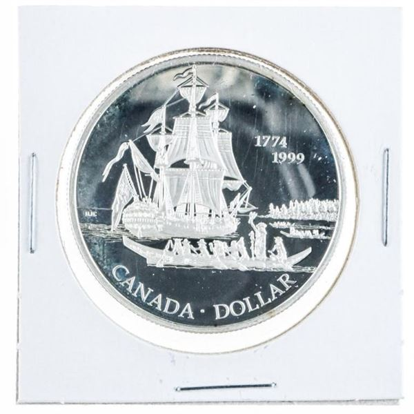 1774-1999 Commemorative Proof 925 Silver  Dollar