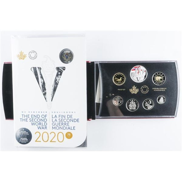 RCM 2020 Special Edition Silver Dollar Proof  Set - 75th Anniversary of VE Day. RCM. PLus  RCM Victo