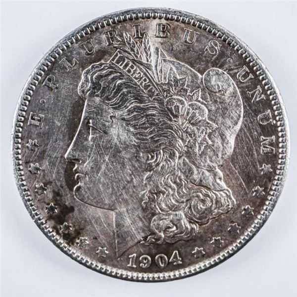 1904 USA Silver Morgan Dollar MS64-x